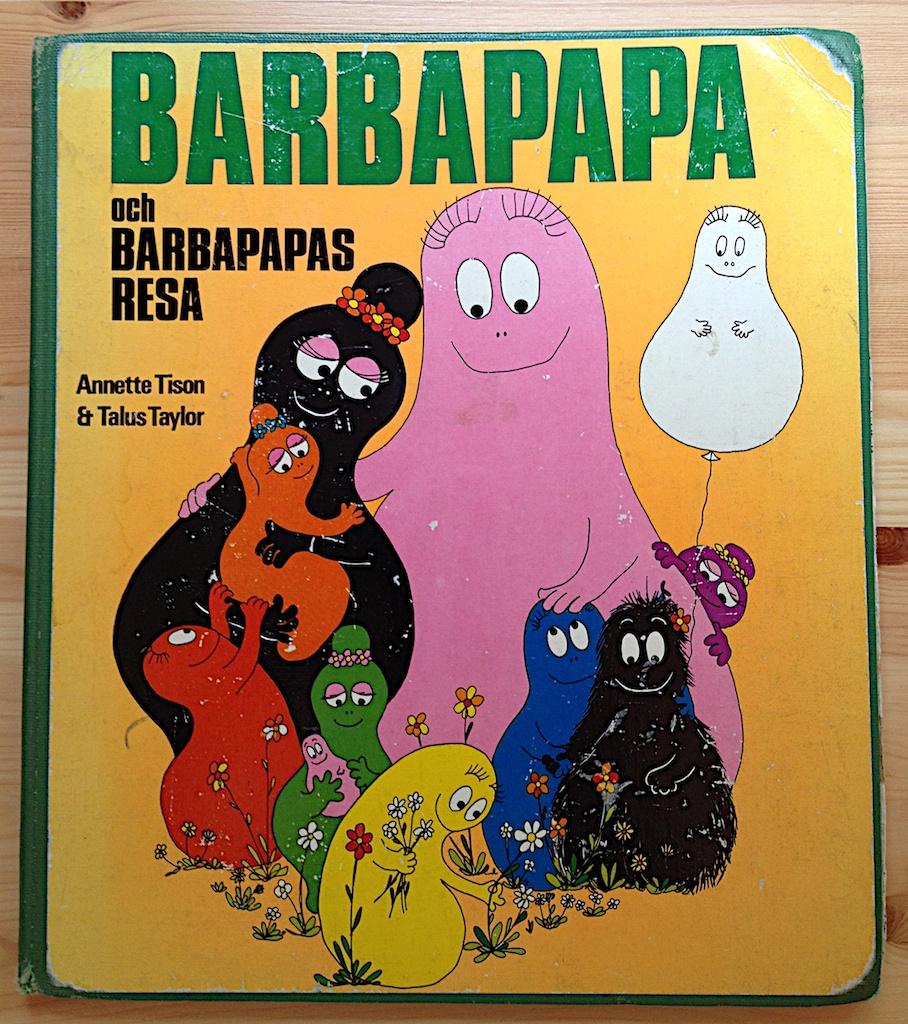 Barbapapa och Barbapapas resa av Annette Tison och Talus Taylor