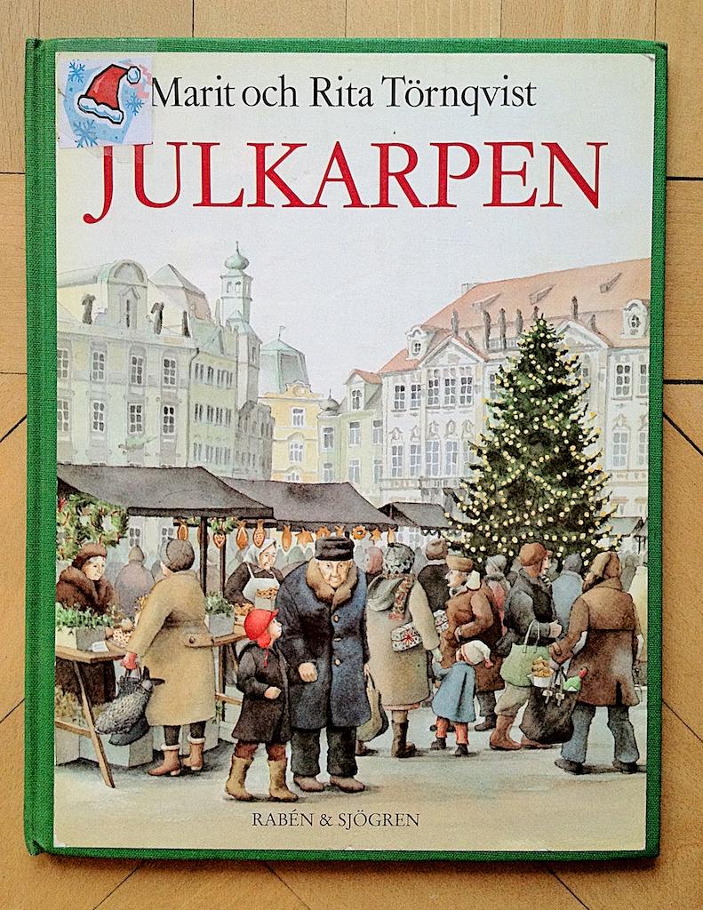 Julkarpen av Marit Törnqvist  Illustratör Rita Törnqvist
