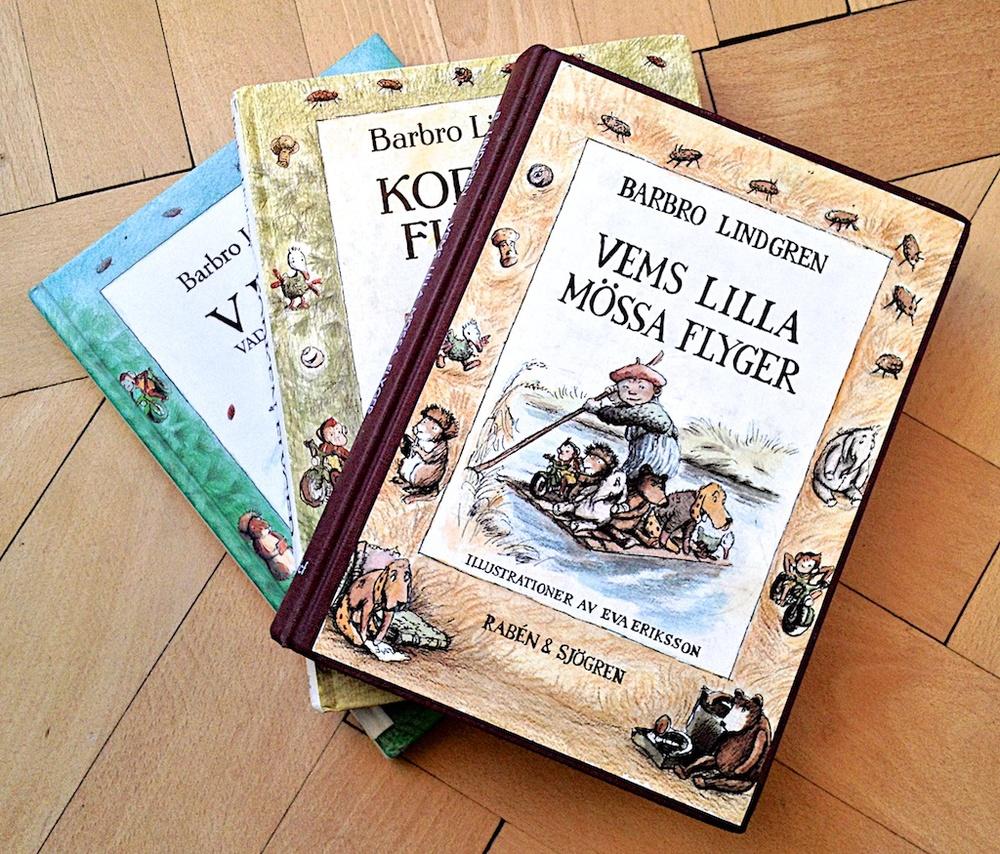VLMF trillogin av Brabro Lindgren  Illustratör Eva Eriksson