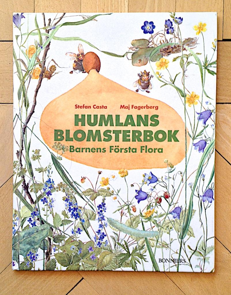 Humlans blomsterbok av Stefan Casta  Illustratör Maj Fagerberg