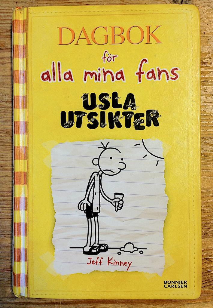 Dagbok för alla mina fans Usla utsikter av Jeff Kinney