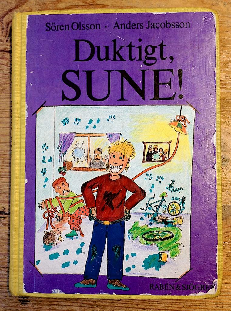 Duktigt Sune av Sören Olsson och Anders Jacobsson  Illustrationer av Sören Olsson
