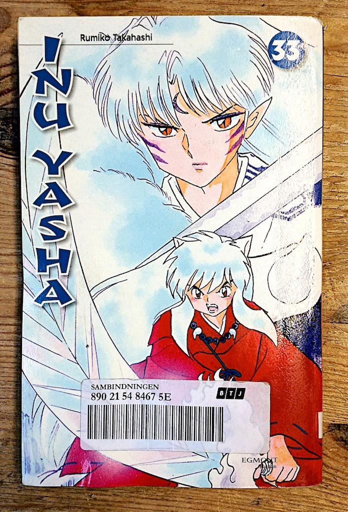 Inu Yasha 33 av Rumiko Takahashi