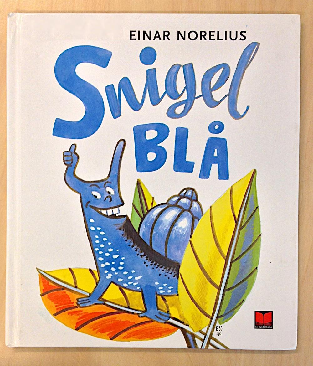 Snigel Blå av Einar Norelius