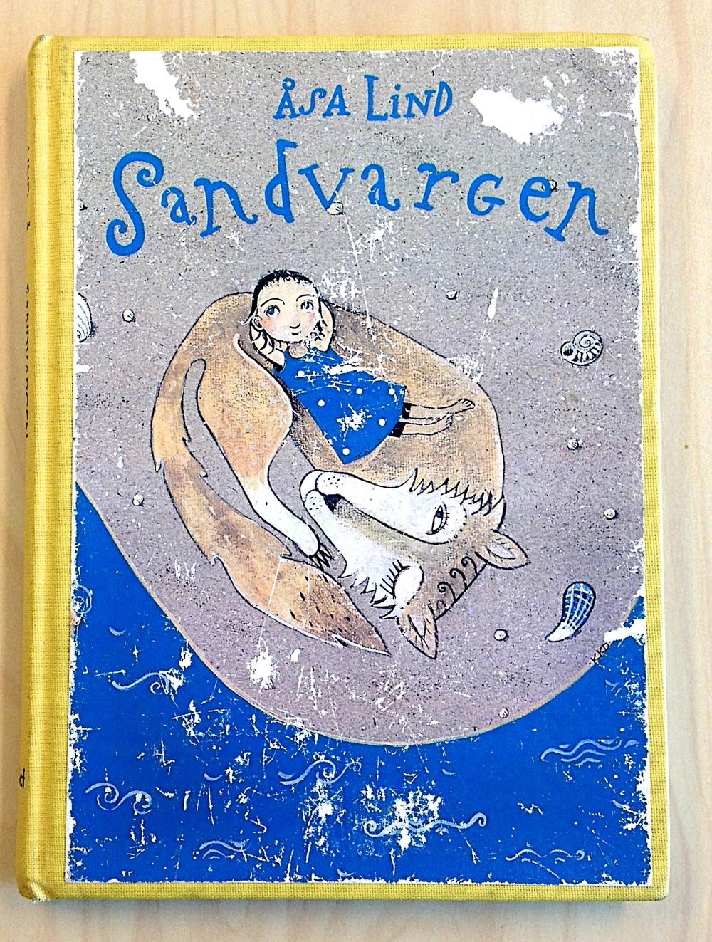 Sandvargen av Åsa Lind  Illustrationer av Krisitna Digman