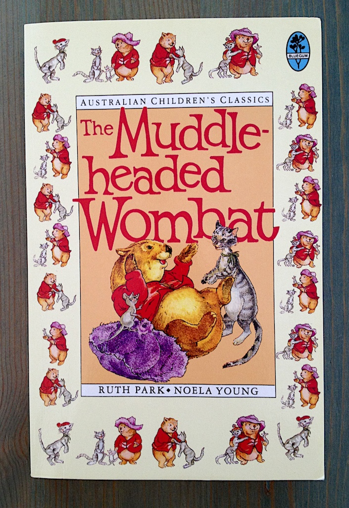 The Muddle-headed Wombat av Ruth Park   Illustrerad av Noela Young