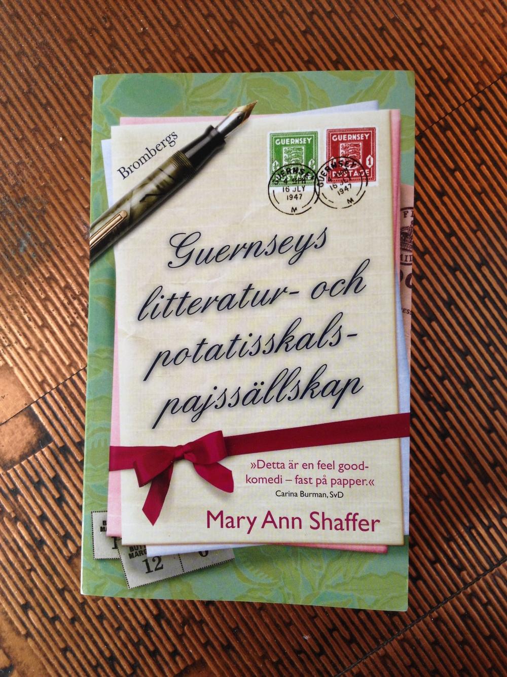 Guernseys litteratur- och potatisskalspajssällskap av Mary Ann Shaffer