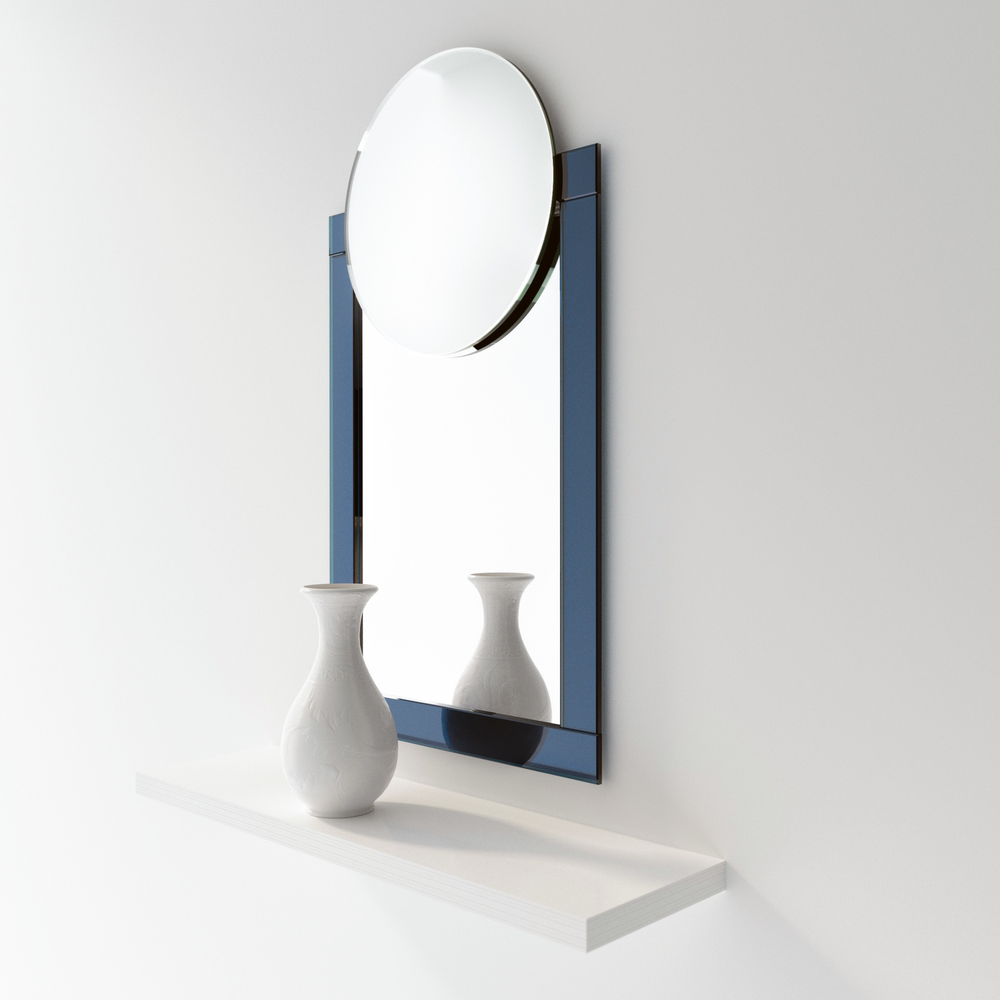 Machine Age Blue Glass Art Deco Mirror.jpg