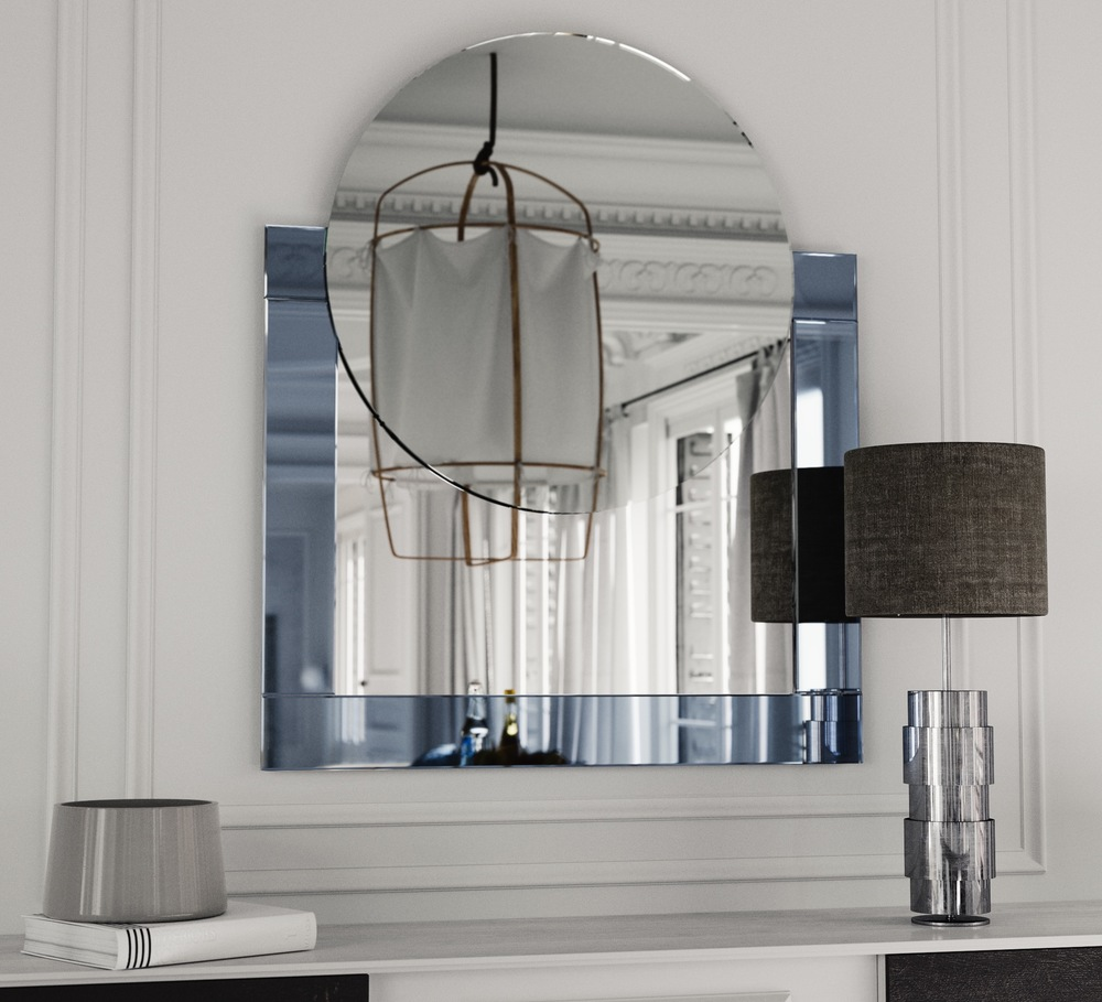 Art Deco Style Machine Mirror