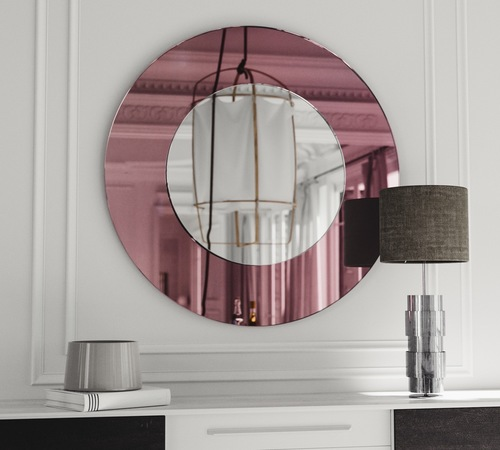 Painted Mirror Frame Colorful