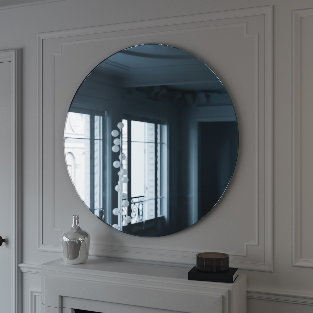 Blue Mirror by  Color and Mirror