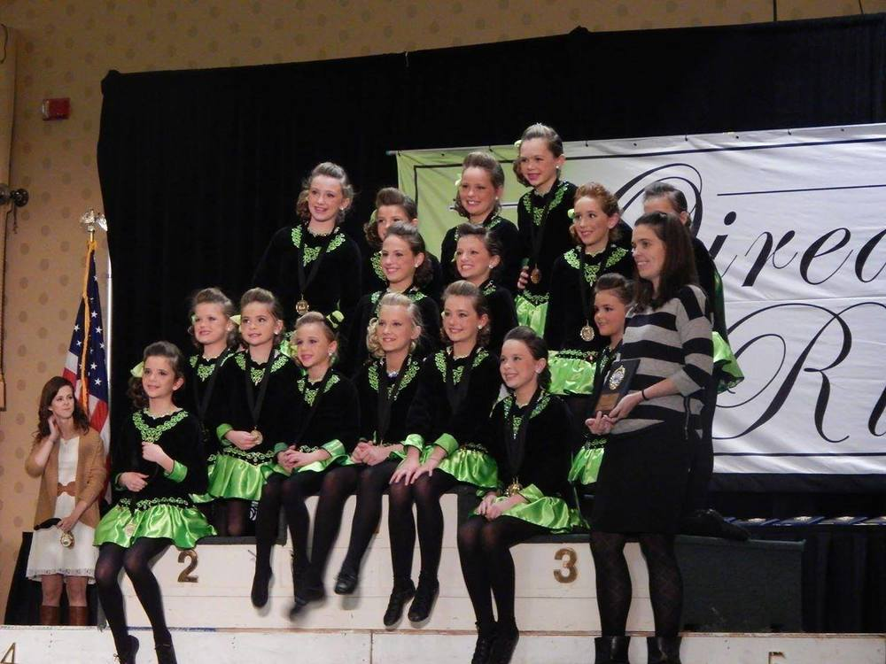 Oireachtas 2014 First place U11 Choreography