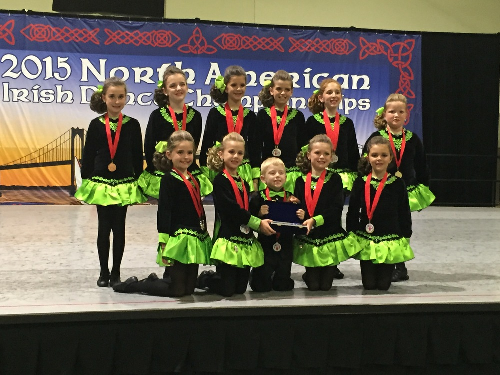 Mixed Choreography U11...1st place National Champs 2015!
