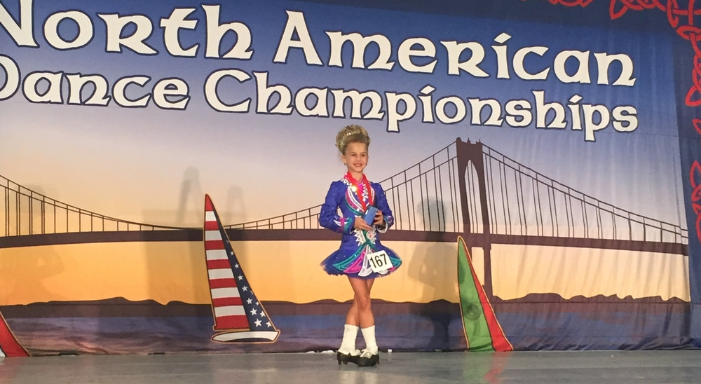 Chloe Stowe Girls U8 13th Place at the 2015 Nationals!
