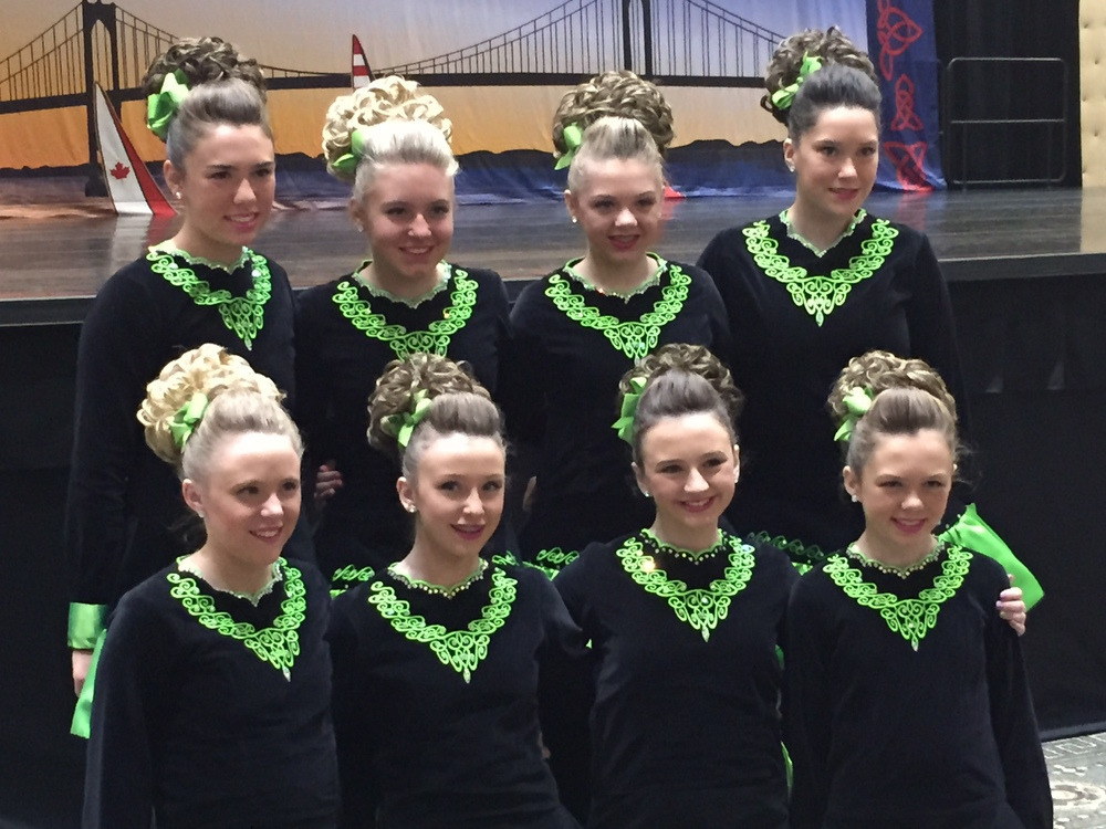 Girls U16 Nationals Ceili