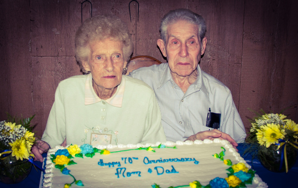 Asa & Dorothy Humston - 70th Wedding Anniversary, 2013