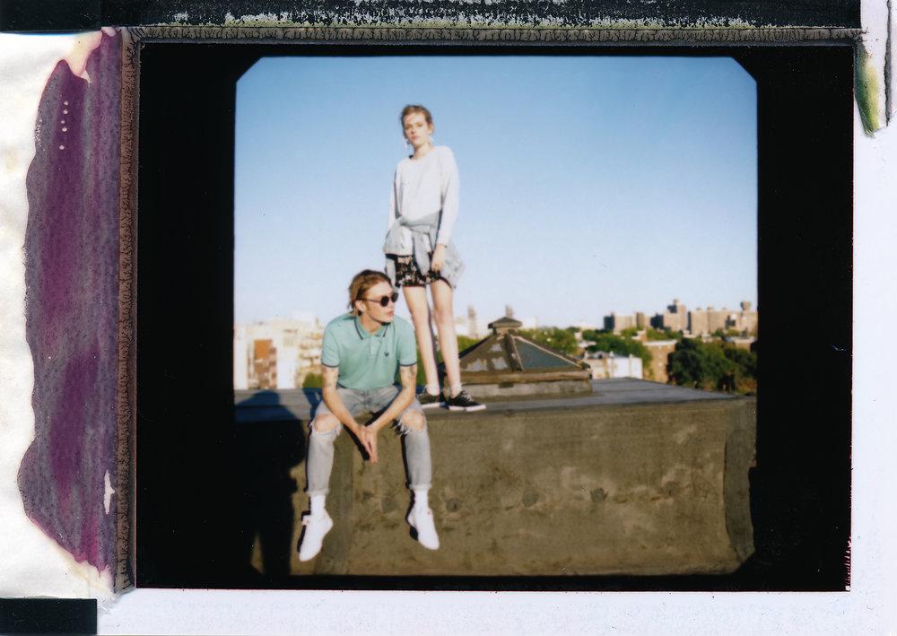 American Eagle - spring campaign + Brooklyn NY
