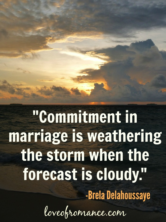 Commitment In Marriage Quote Romance Me