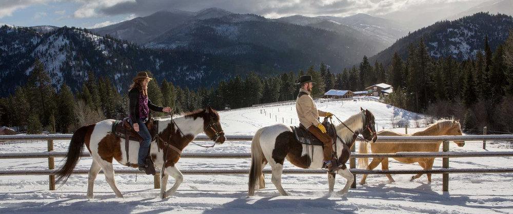 Photo Courtesy of  Triple Creek Ranch