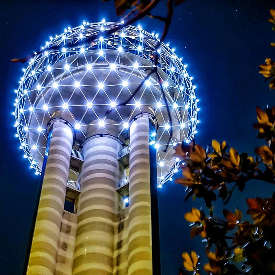 photo courtesy of  Reunion Tower