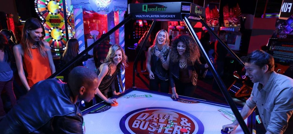 Have a Dave & Buster's Date Night - photo courtesy of Dave&Busters