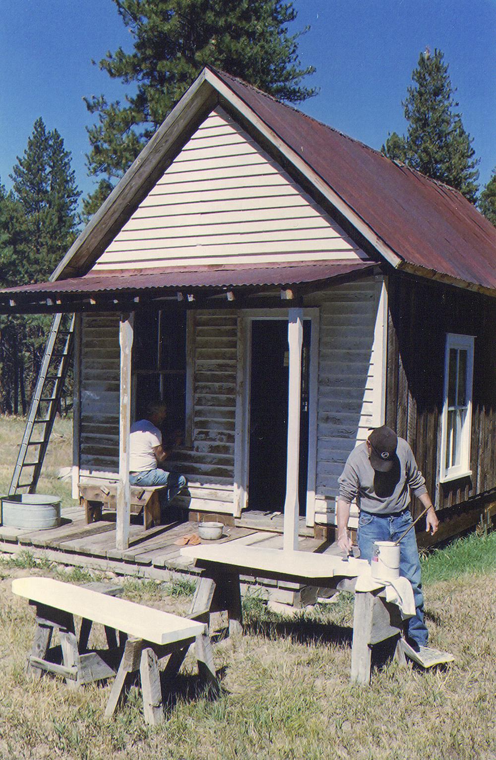 Barber Shop Restoration
