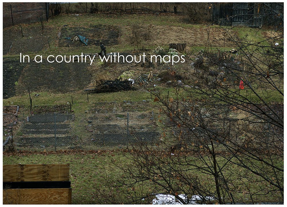 In a country without maps - January 2014