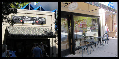 Fancy Cakes by Leslie is located on Bethesda Row at 4939 Elm Street.