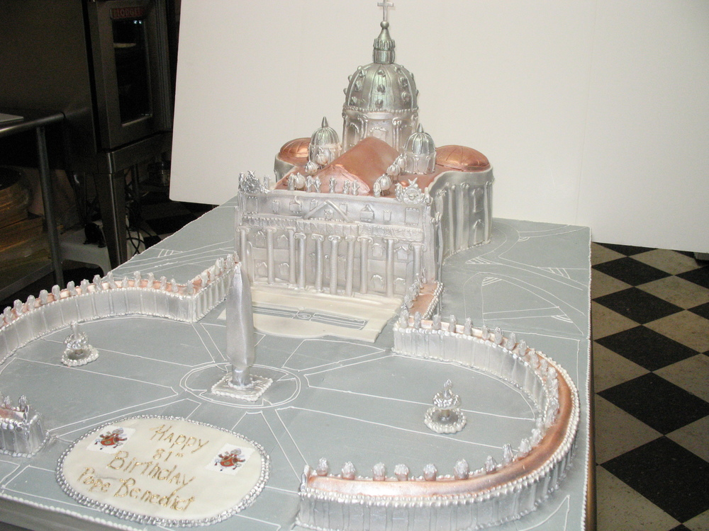 Pope Benedict's Birthday Cake