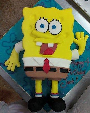 Sponge Bob Party Cake