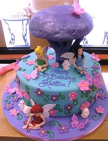 Fantasy fairy Cake