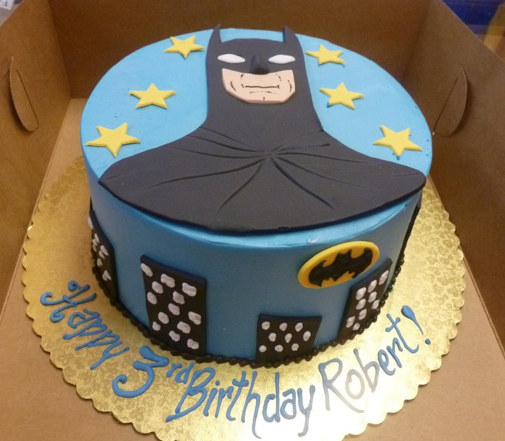 Prince Batman Birthday Cakes