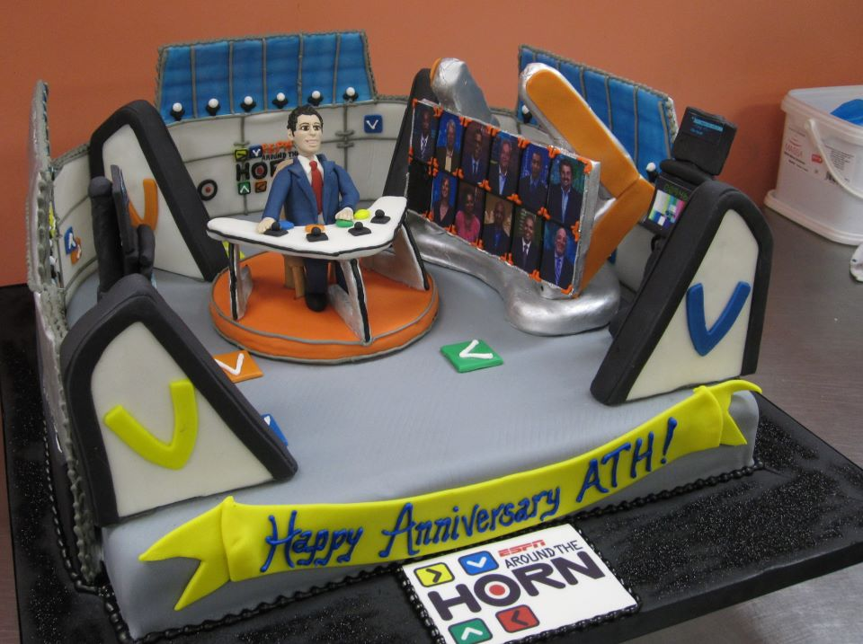 Around the Horn Cake