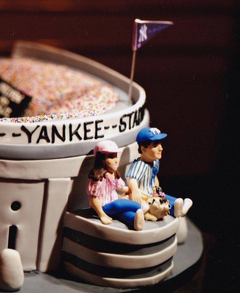 Yankee Stadium Cake