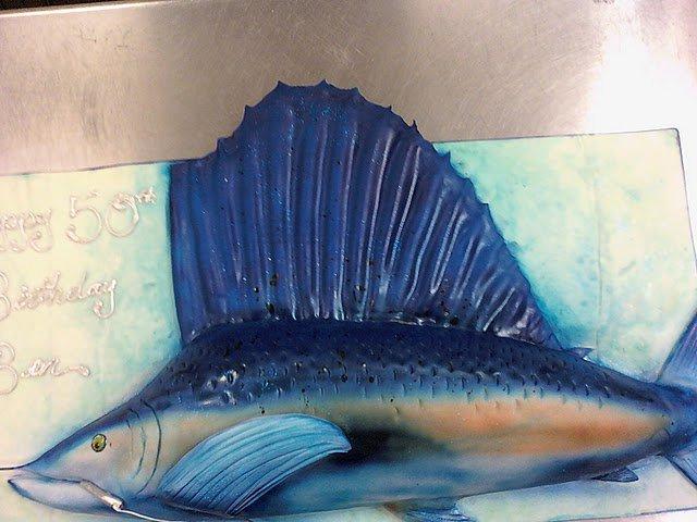 Deep Sea Fising Cake