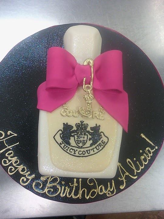 Perfume Bottle Cake