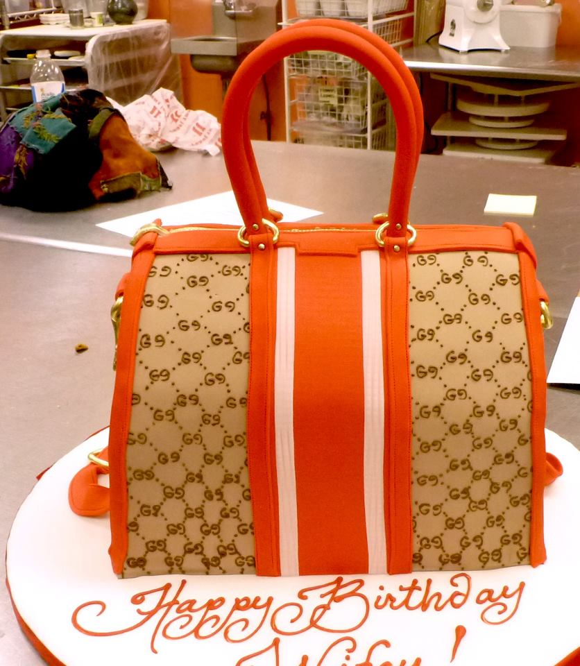 Gucci Bag Cake