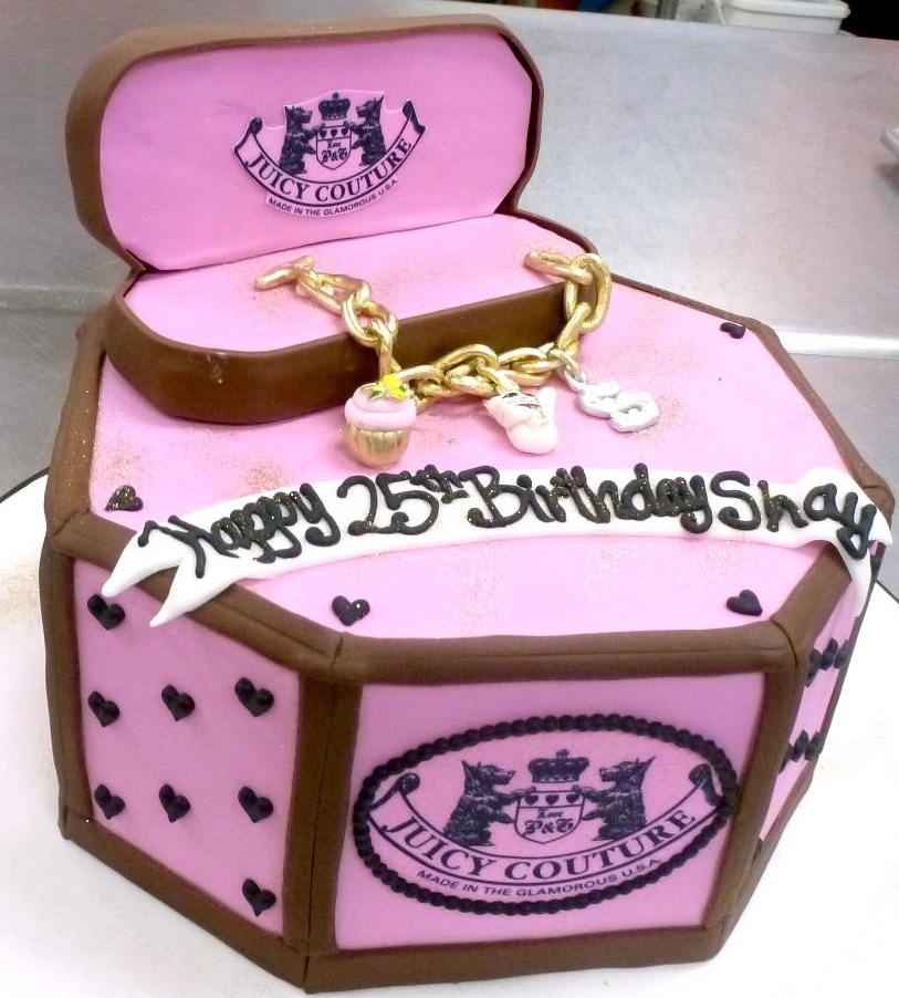 Juicy Jewlry Box Cake