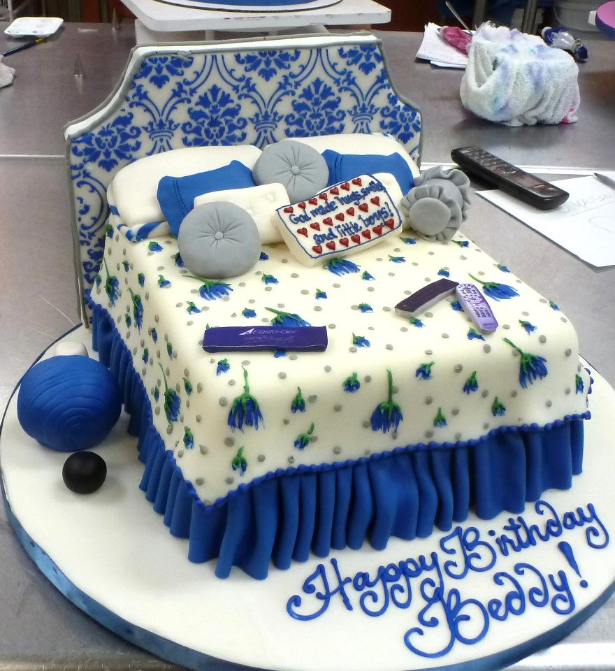 Double Bed Birthday Cake
