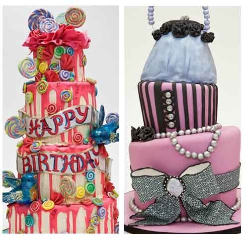 Fabulous Birthday Cakes