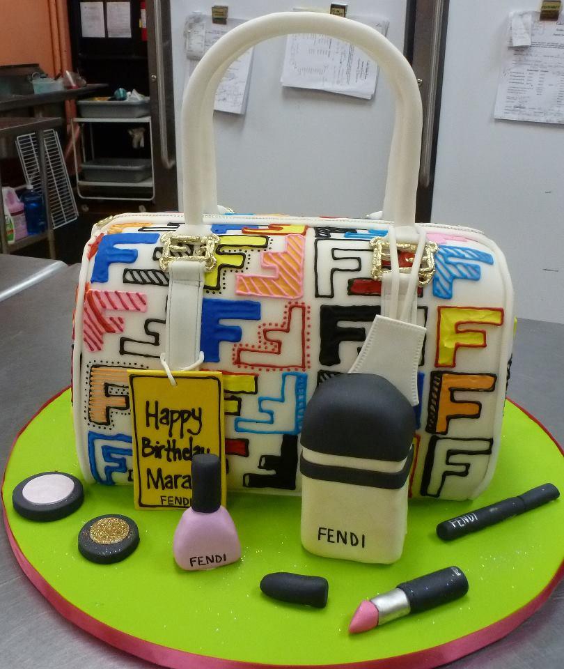 Fendi Bag Cake