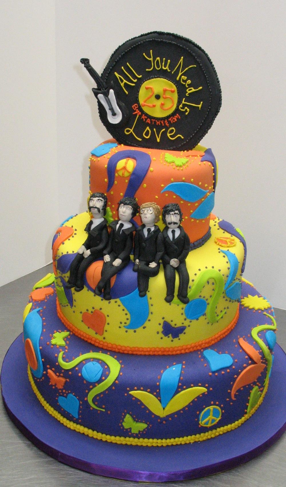 Beatle's cake
