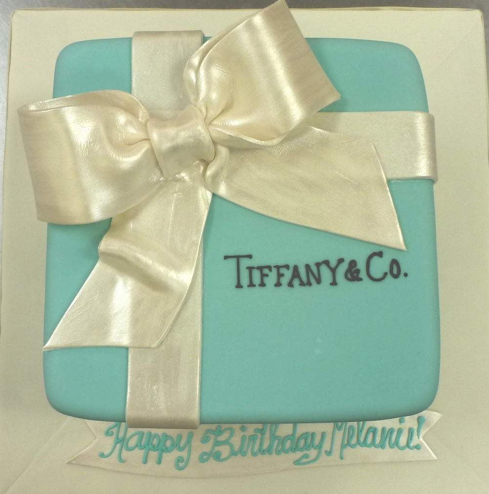 Tiffany Blue Box Birthday Cake