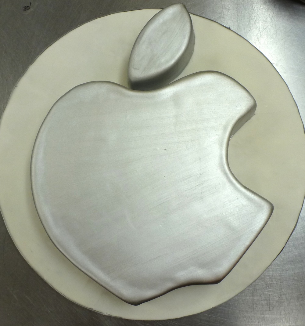Apple Computer Cake