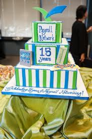 Payroll Company Party Cake