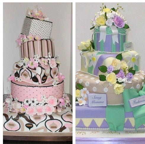 Classy Birthday Cakes