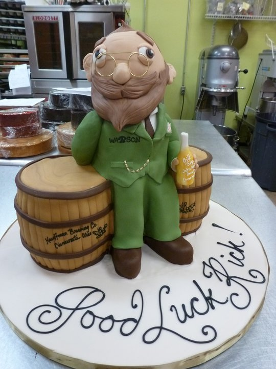 Funny Drinking Cake
