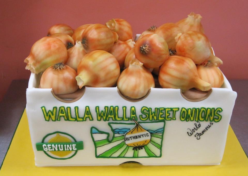 Funny Onion Cake