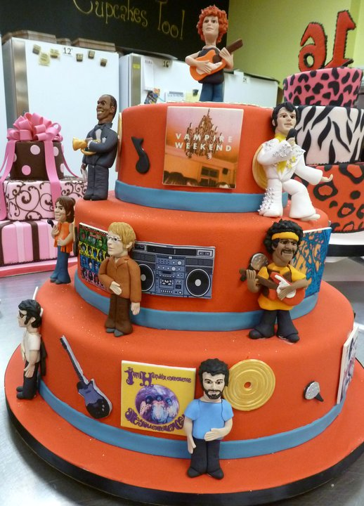 Rock N' Roll Cake