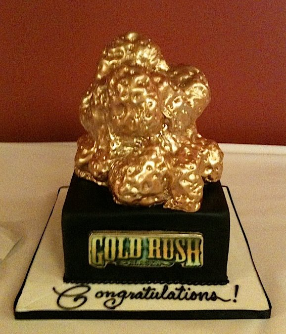 Gold Rush Cake for TLC